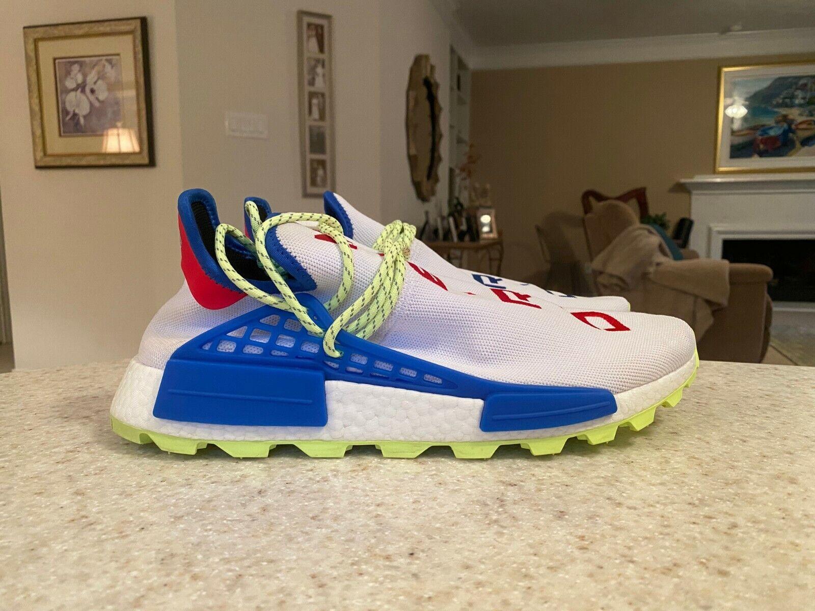 Adidas Pharrell Williams N.E.R.D Human Race NMD Size 12.5 NMD Ultra Boost (PE)