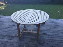 High Quality Teakwood Outdoor Extendable Table Willoughby Willoughby Area Preview