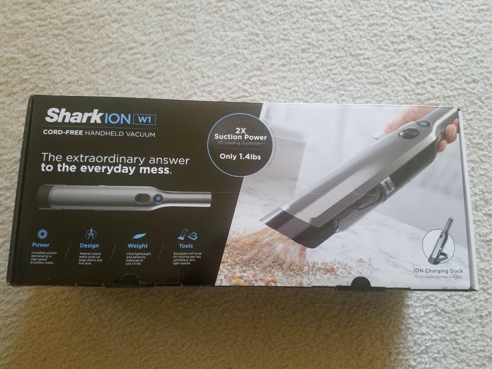 Shark Ninja Ion W1 Cord-Free Handheld Vacuum Brand New Free