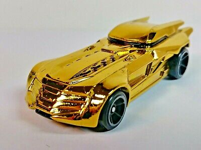 Hot Wheels 2020 Batmobile Gold Batman DC Comics #3/5 9/250 OH5 Wheels 1/64 Loose
