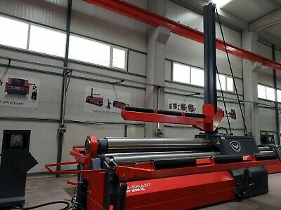 New Rmt 102 X 58 Hydraulic 4 Roll Plate Roll With Cnc Control