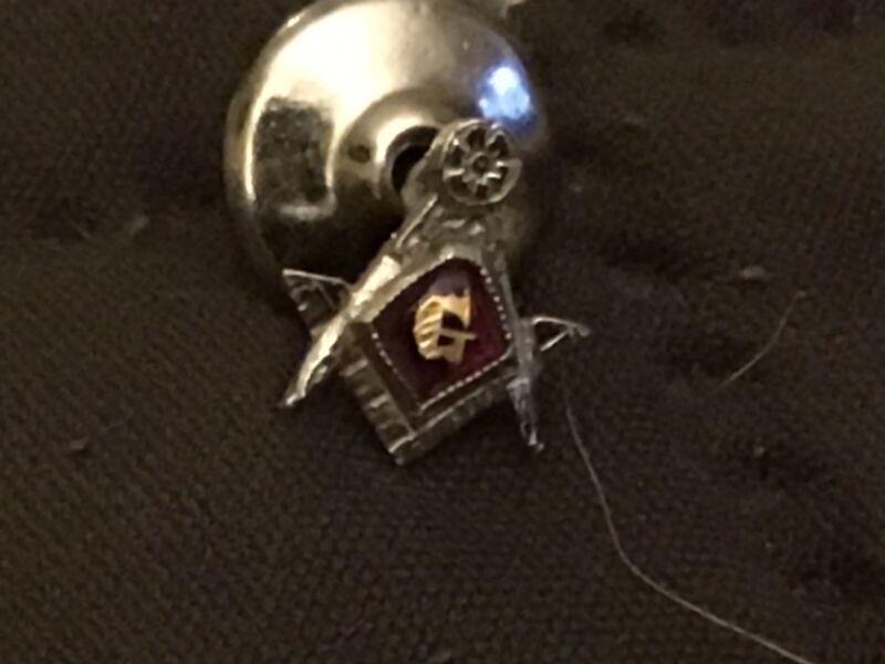 Vintage Freemason Masonic G Lapel Tie Pin