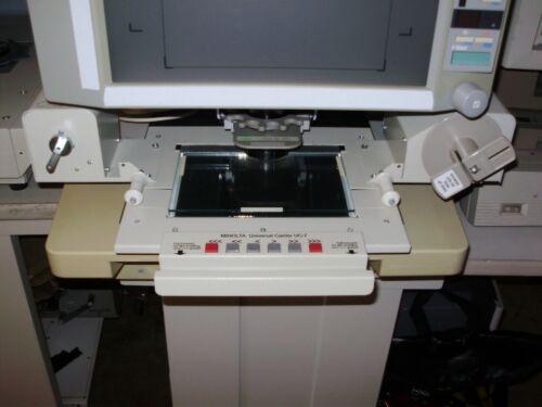 MINOLTA UNIVERSAL CARRIER UC-7 MICROFILM MICROFICHE & APERTURE CARD CARRIER NICE