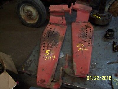 Mf Massey Ferguson 50 Tractor Pair Of Running Boards With Footrests
