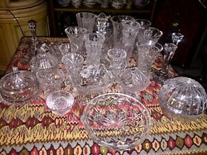 30 Pieces of Crystal $50