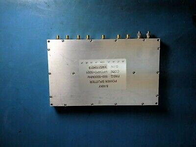 Minicircuits Mpd8pd15001 500-5000mhz 8-way Rf Power Splitter -bulkdiscount-