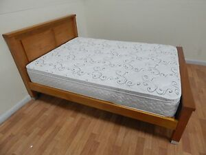 Solid wood double bed and mattress SYDNEY DELIVERY & ASSEMBLY Windsor Hawkesbury Area Preview