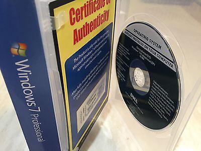 Genuine Microsoft Windows 7 Professional 64BIT SP1 OEM Full Version DVD +Key