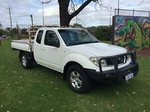 2008 NISSAN NAVARA RX T/D 4X4 MANUAL UTE $8290  with 1 YEAR WARRANTY Leederville Vincent Area Preview
