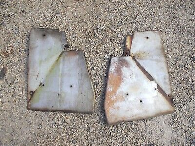 Farmall 504 Rowcrop Tractor Ih Front Side Radiator Panel Cover Covers