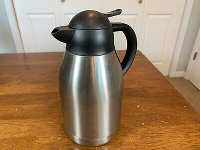Oggi Catalina 68 OZ Thermal Vacuum Carafe W Stainless Steel Liner & Press Button Carafe Stainless Steel Liner