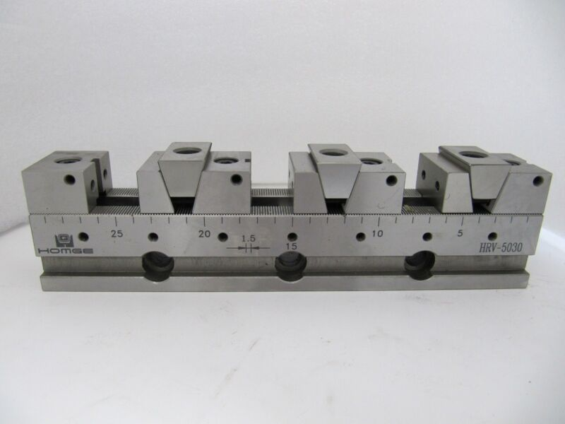 HRV-5030: CNC VISE IN ROW, Width=50MM, Length=300MM, C=66MM