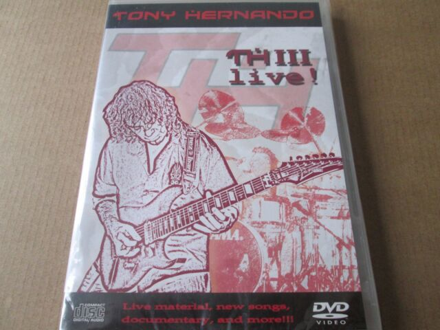 Tony Hernando - Live (DVD, 2 DISC SET) NEW AND SEALED