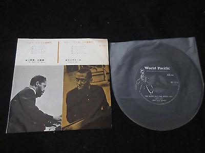 """John Lewis Bobby Timmons Japan 7 inch Vinyl Single 7"""" Jim Hall Chet Baker Jazz"""
