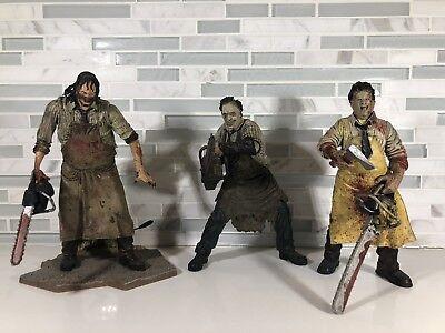 Chainsaw Massacre Toys (Leatherface Figures Neca - McFarlane Toys Texas Chainsaw Massacre - Lot of)