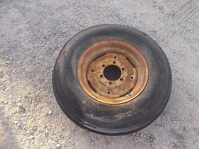 International 460 560 Utility Tractor Ih Front Rim 7.50 X 16 Dunlop Tire 6ply