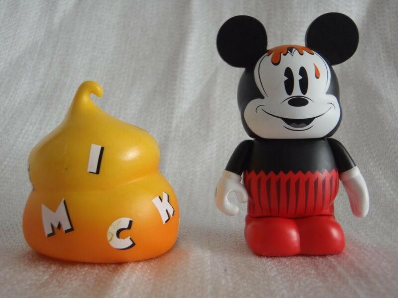 Disney Vinylmation Mickey Mouse #3 PIE-EYED CUPCAKE Mystery Bakery #3 Figure