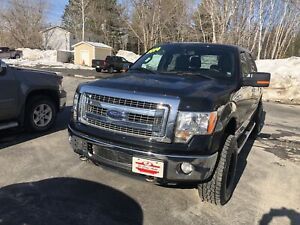 2014 Ford F-150 2014 Ford F-150 - 4WD SuperCrew 145  XLT