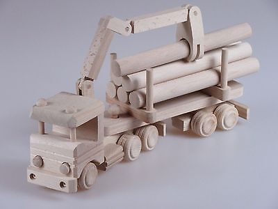 Holz -LKW mit HDS Spielzeug