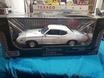 """1:18 """"Motor Max"""" 1969 Pontiac 'GTO' Judge """"American Classics"""" BEAUTIFUL CAR"""