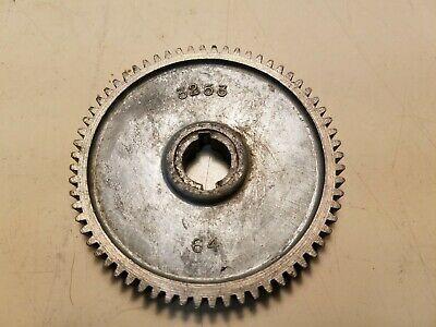 Atlas Craftsman Dunlap 101 618 109 Metal Lathe 109 6 Gear 64 Teeth  3253