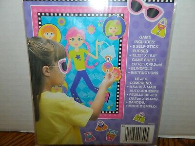 Unique Girl Games (Unique GROOVY FASHION GIRLS Party Game 8 PLAYERS*)