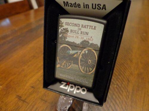 CIVIL WAR SECOND BATTLE OF BULL RUN AUGUST 28-30 1862  ZIPPO LIGHTER MINT IN BOX