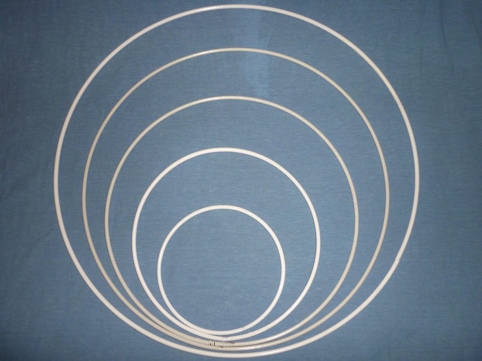 (1,50Stück) 2x Drahtringe, 20cm, Fensterbilder, Traumfänger