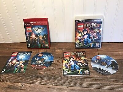 LEGO Harry Potter: Years 1-4 & Years 5-7 For Nintendo Wii w/cases and Manuals