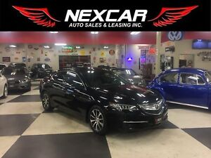 2015 Acura TLX AUT0 LEATHER SUNROOF BACKUP CAMERA 66K