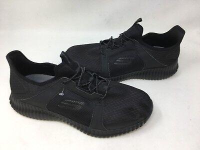 NEW! Skechers Men's ELITE FLEX Walking Shoes WIDE Black/Blue #52640 171P t - Elite Walking Shoe