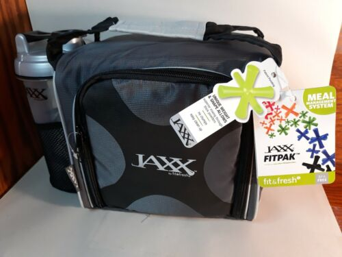 Fit and Fresh Jaxx FitPak with Portion Control Container Set