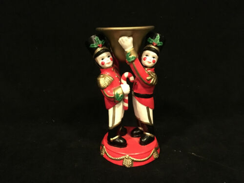 PartyLite Toy Soldiers Christmas Candle Holder