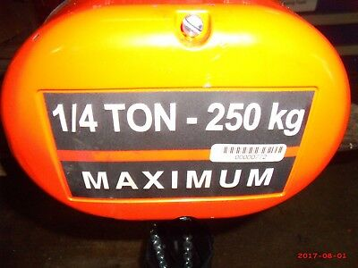 Cm Lodestar C 14 Ton Electric Hoist With Trolley 1 Ton Industrial Free Ship