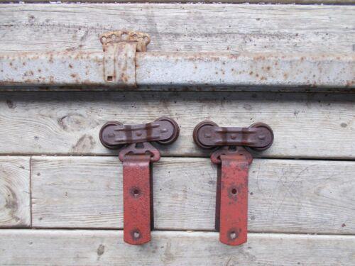 Antique Barn Door Hardware Rollers,Track and Hangers