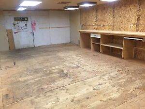 Workshop/Storage/Art Studio space available