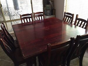 8 seater dining table Waroona Waroona Area Preview
