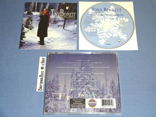 Tony Bennett Snowfall The Christmas Album 1968 CD Harry Connick Jr Diana Krall