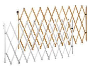 Cancelletto per cani lin xxl naturale e bianco 62 230 cm for Cancelletto per animali