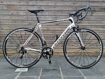 Cannondale Synapse Carbon 105 Carbon Road Bike 56cm Large Mavic Cosmic