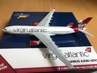 Gemini Jets 1 400  Virgin Atlantic  Airbus A330 200  G Vmik