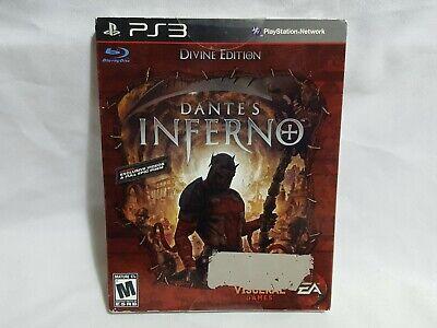 NEW (Read) Dante's Inferno Divine Edition Playstation 3 Game SEALED PS3 US NTSC segunda mano  Embacar hacia Argentina