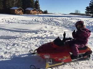 Polaris Edge X 120cc Kid's Snowmobile