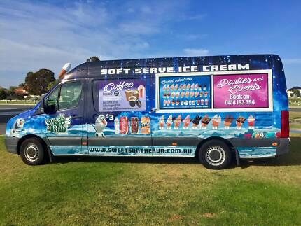 Perth's Local Ice Cream & Coffee Van