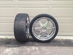 """24"""" Sequence Rims with Lexani Tires"""