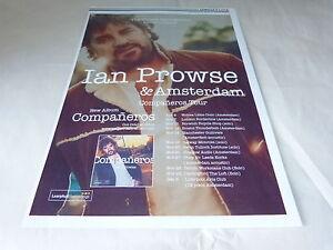 IAN PROWSE - Publicité de magazine / Advert COMPANEROS TOUR !!!!!!!!! - Balledent, France métropolitaine - Thme: Musique - Balledent, France métropolitaine