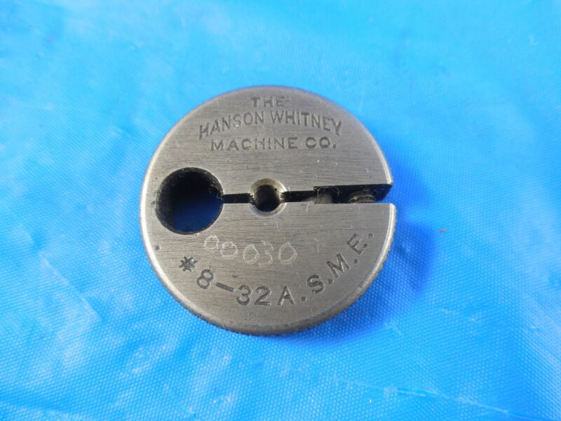 8 32 ASME THREAD RING GAGE #8 A.S.M.E. MACHINE SHOP INSPECTION TOOLING MACHINIST