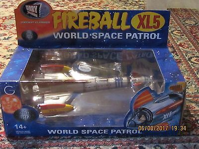 FIREBALL XL5 METAL DIECAST MODEL  BY PRODUCT ENTERPRISE - MINT NEVER OPENED