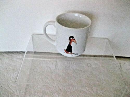 Vtg Sandra Boynton Coffee Mug Congrats College Graduate Turkey Bird RARE #er-w