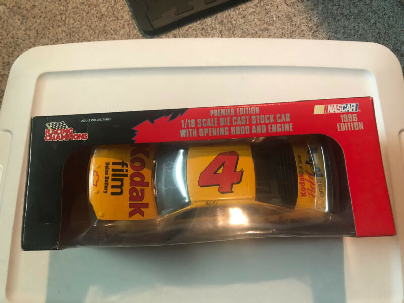 1996 Racing Champions NASCAR Sterling Marlin 4 Die Cast Car New In Box
